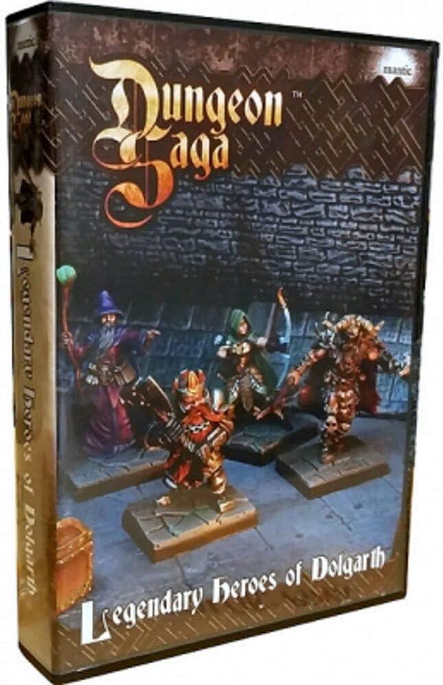 Dungeon Saga: Legendary Dolgarth of Max 56% OFF Heroes Free shipping / New