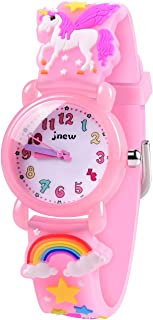 VAPCUFF Toys for 3 4 5 6 7 Year Old Girls, Toddler Watch for Girls Best Gifts for 4 5 6 7 8 Year Old Girl Toddler Girls Toys Age 3-9 - Pink