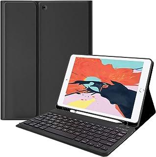 [Lively Life]iPad Pro Air/Air2 キーボード ケース セット Bluetooth キーボード カバー iPad 第8世代 着脱式 タブレット ケース オートスリープ スタンド機能付き キーボード 一体型 カバー iP...