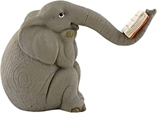 Top Collection Miniature Garden Elephant Reading Book