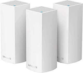 Linksys Velop WHW0303 Intelligent Mesh WiFi System, Tri-Band, 3-Pack AC6600