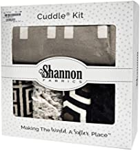 Dolce Luxe Crazy 8 Cuddle Kit Shannon Fabrics Quilt Kit