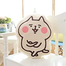 ChezMax Cute Plush Decorative Throw Pillow for Home Office Sofa Stuffed Animal Toys Back Cushion Creative Doll for Kids Co...