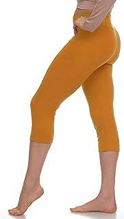 ca0e1ec09fbb1 Amazon.com: Yellows - Leggings / Clothing: Clothing, Shoes & Jewelry