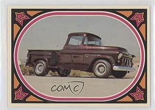 55 Chevy Stepside (Trading Card) 1975 Donruss Truckin' - [Base] #11