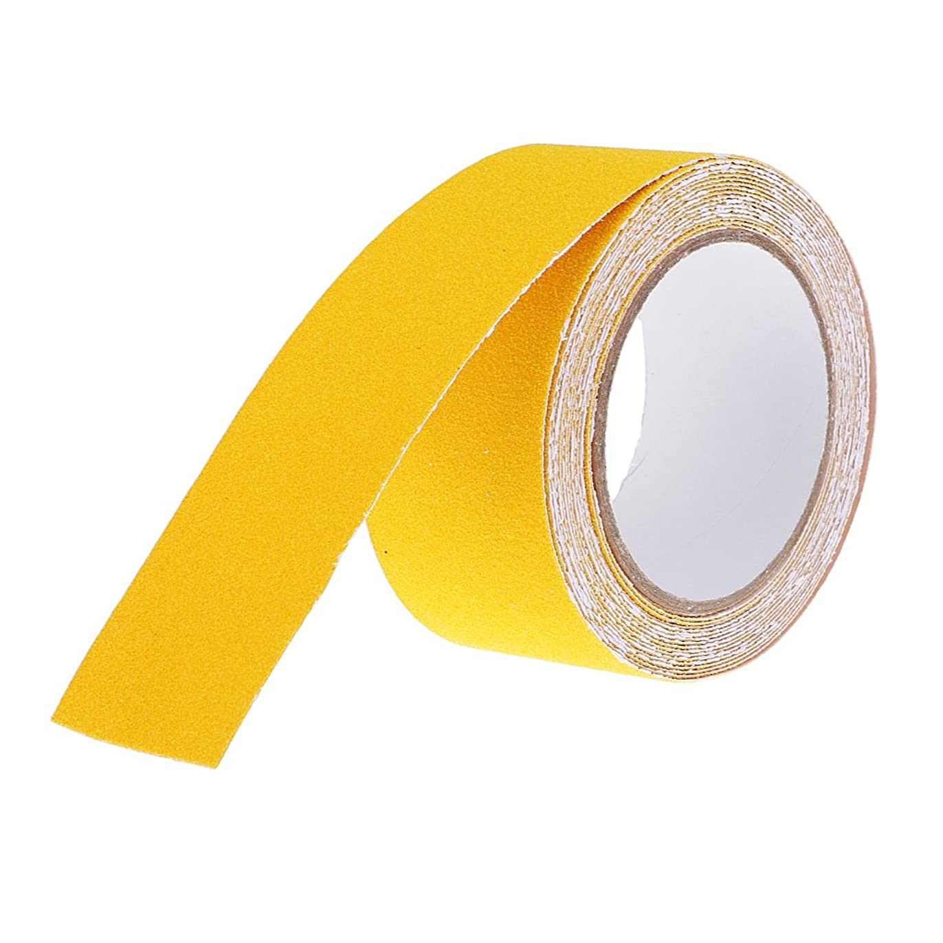 日値する広がりsharprepublic 5個 滑り止めテープ 階段 転倒防止対策 駐車場 歩道 強固な接着 多用途 5m×5cm 全8色 - 黄