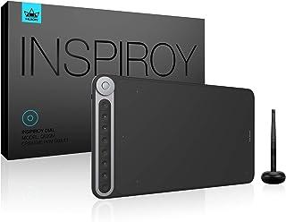 HUIONペンタブレットInspiroy Dial Q620M Surface Dial機能が使えるペンタブ 傾き検出レベル±60°ワイヤレス接続可能エクスプレスキー8個 スマホ接続対応可 10× 6.5インチ
