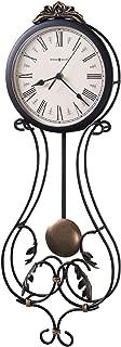 Howard Miller Paulina Wall Clock 625-296 – Modern & Round with Pendulum & Quartz Movement