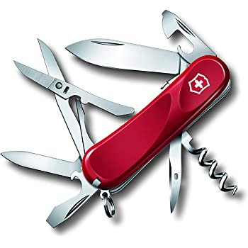 Victorinox V23903.SE Navaja Medio Evolution 14 Bloqueable, Rojo, M: Amazon.es: Deportes y aire libre
