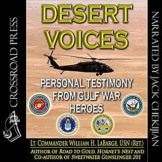 Desert Voices audiobook cover art