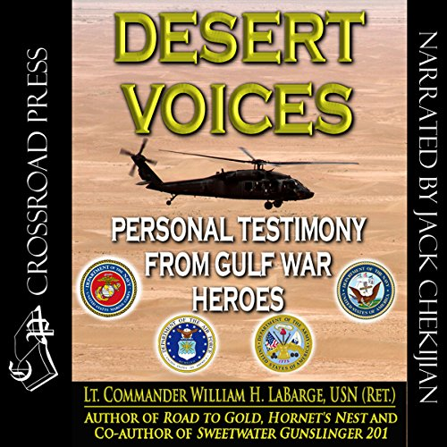 Desert Voices audiobook cover art
