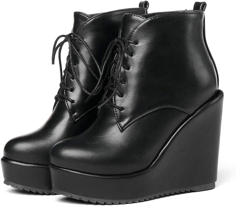 AnMengXinLing CAIFUDIE-55-C8-58, Damen Kurzschaft Stiefel  | Ausgezeichneter Wert  | Ausgezeichnete Leistung  | Rabatt