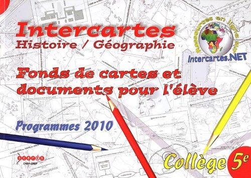 Histoire-Géographie 5e : Fonds de cartes et documents pour l'élève