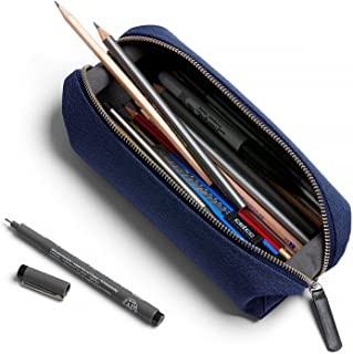 Bellroy Pencil Case Plus, Everyday kit, Woven Fabric (pens, Cables, Tools, toiletries) - Ink Blue