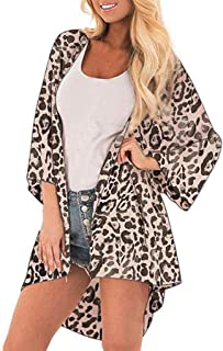 062b23ac33 Amazon.com  Leopard Kimono - Women  Clothing