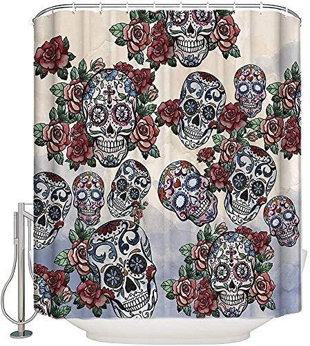 DHGFH Cortina de Ducha Fabric Shower Curtains Waterproof Shower Curtai