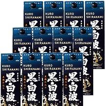本格芋焼酎 黒白波(黒麹)25度1800mlパック 2ケース(12本)