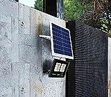 RXT Luz Solar para el hogar, Sala de Estar súper Brillante, luz Interior para Exteriores, iluminación Recargable, luz de Calle, luz de jardín, luz de Pared (3 Piezas)