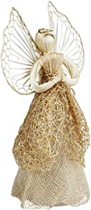 Ten Thousand Villages Sinamay Tree Topper Angel