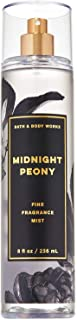 Bath and Body Works MIDNIGHT PEONY Fine Fragrance Mist 8 Fluid Ounce (2019 Limited Edition)