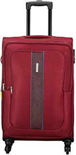 Aristocrat Polyester 41.5 cms Red Softsided Check-in Luggage (STESIW69RED)