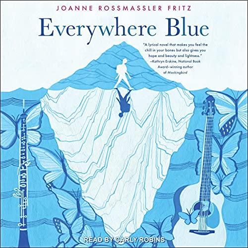 Everywhere Blue Audiobook By Joanne Rossmassler Fritz cover art