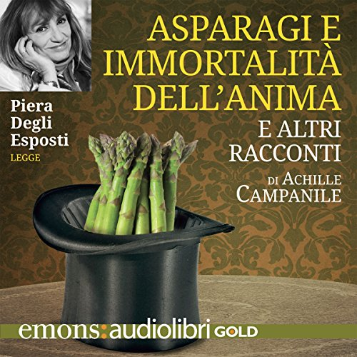 Asparagi e immortalità dell'anima cover art