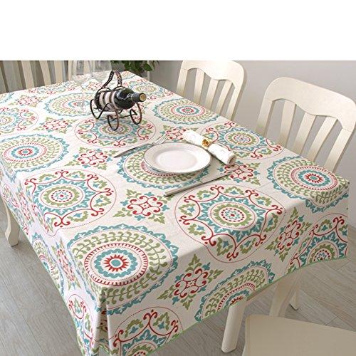 Tafelkleed/doek, moderne minimalistische tafelkleed, katoenen tafelkleed, tafelkleed, pastorale stijl, tafelkleed, woonkamer, salontafel, vierkant tafelkleed 110x160cm(43x63inch) Q