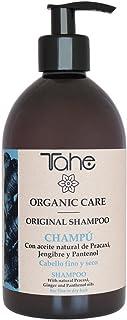 Tahe - Organic Care Champú Original para Cabello Fino con Aceite Natural de Pracaxí Jengibre y Pantenol 500 ml