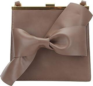 Fawziya حقيبة كتف لطيفة على شكل قوس للنساء حقائب طويلة تمر بالجسم