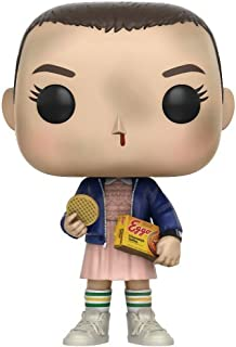 Funko Pop TV: Stranger Things Eleven with Eggos Vinyl Figure (Bundled with Pop Box Protector Case)