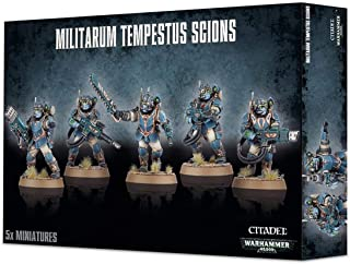 Warhammer 40K Militarum Tempetus Scions by Games Workshop