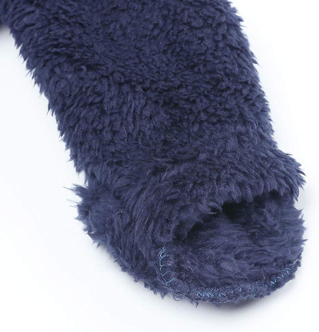 Newborn Baby Snowsuit Fleece Lined Onesie Pajamas Warm Hooded Romper for Infant