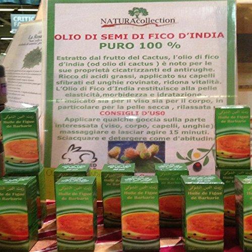 Olio di Semi di Fico d' India puro 60 ml.