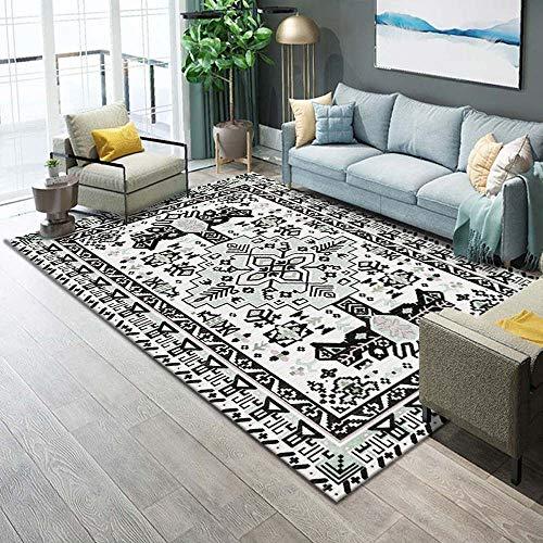 ZCXBB Nordic Fashion Trend rechteckig Anti-Rutsch-Teppich im chinesischen Stil marokkanischer geometrisches Muster, Geeignet for Wohnzimmer Schlafzimmer Sofa Couchtisch Kissen Teppich, Mischung 6