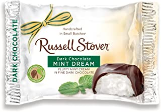Russell Stover Dark Chocolate Mint Dream, 1.125 Ounce Bars (Pack of 24)