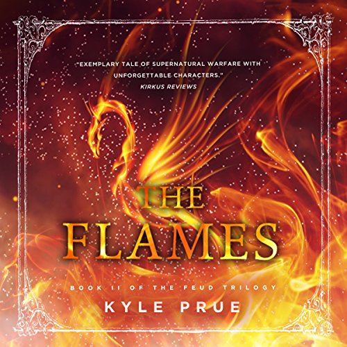 The Flames audiobook cover art