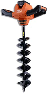 SuperHandy Electric Auger Cordless Power Head Heavy Duty Eco-Friendly w/Steel 6