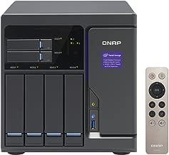 QNAP Pre-configured 6-Bay Intel i3 NAS, Raw 24TB (4x6TB Enterprise Drive) (TVS-682-i3-8G-46E-US)