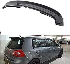 FidgetKute Carbon Fiber Rear Roof Spoiler Trunk Wing Fit for Volkswagen Golf 5 MK5 GTI R32