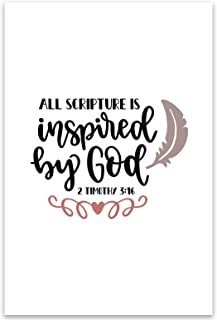 All Scripture Is Inspired By God Wall Art Poster