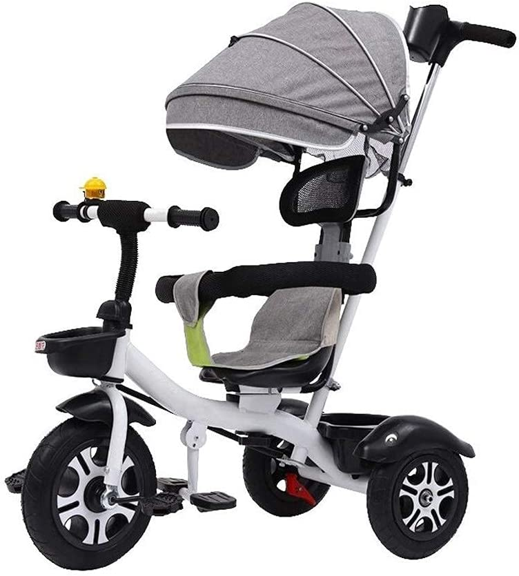 Tricycle Kids Online limited product Pedal New sales 4 in 1 Trolley Baby C Bicycle Child