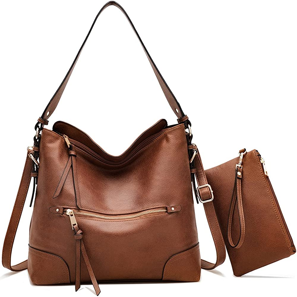 Large Tote Bags for Women Work Travel Ladies Shoulder Purses Hobo Handbags Faux Leather