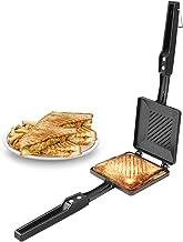 Warmeo Non-Stick Solo Regular Sandwich Gas Toaster,1 Piece, Black.