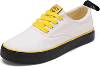BY0NE Girl's Sneakers   Cute Fun Gym Trainer Canvas Tennis Shoe - Women Men