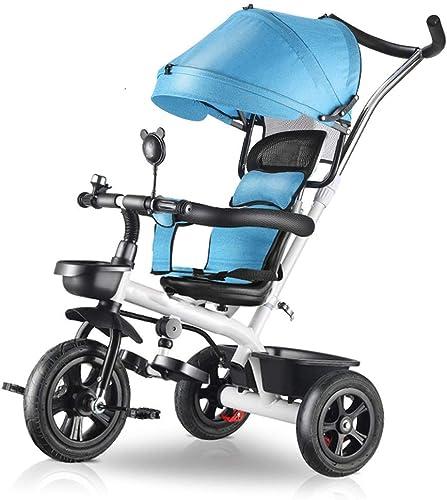 Ahorre hasta un 70% de descuento. BAIF cochecitos bebé Infantil Triciclo Bicicleta Bicicleta Bicicleta 1-3 años de Edad Cochecito de bebé Cochecito de Niño bebé muñeca artefacto (Color  azul)  muy popular