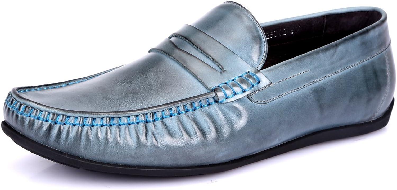 Gaofu Yinxiang Men's Casual Loafers Slip on Driving shoes