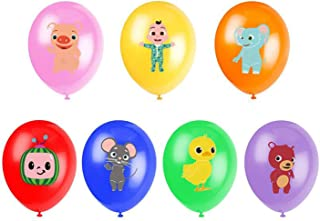 ZJP 28 birthday party supplies, 12-inch latex balloons, used for theme party balloons, very suitable for children's baby s...