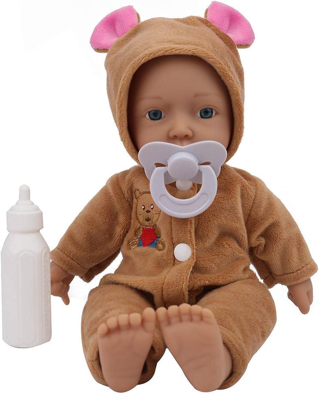 TBY Bambola del Bambino rinato, Bambole Appena Nate Silicone simulato Alto Morbido di Simulazione del Vinile 0-3 Anni Giocattoli dei Capretti per Il Regalo della Ragazza del Ragazzo dell'adulto