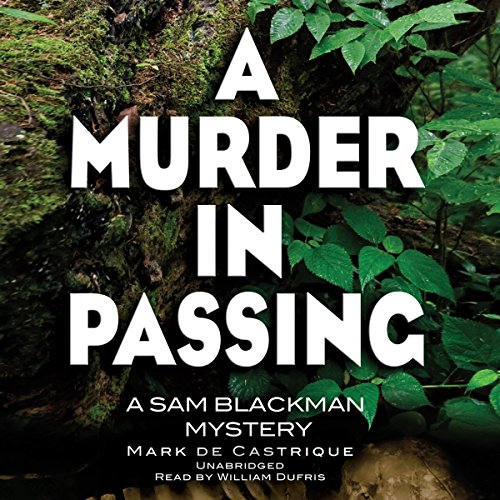A Murder in Passing audiobook cover art